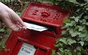 mailing letter
