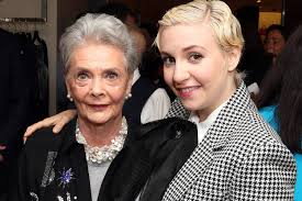 Betty Halbreicht in a recent photo with Lena Dunham.