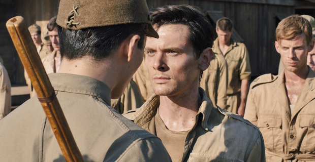 Jack O'Connell played Zamperini in the movie directed by Angela Jolie.