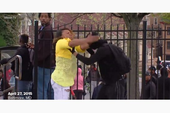 In Baltimore, she was called Mother-of-the-year. In my opinion, this is good parenting.