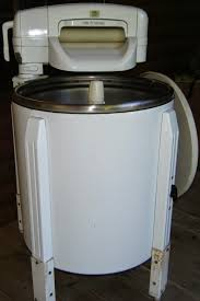 What modern woman wouldn't be thrilled to have one of these babies. It sure beat hand washing with a scrub board.