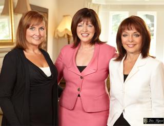Sharon Cady, Kate Wheeler and Christine Bentley from Sirius Radio's What She Said.