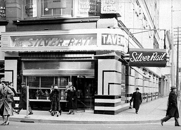 Toronto's first cocktail lounge opened in 1923.