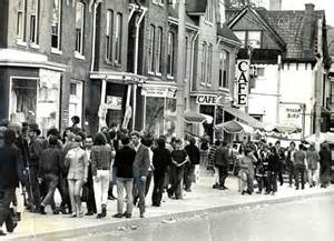 Yorkville Village in sixties was a far cry from the posh landing pad for the rich and famous it has become.