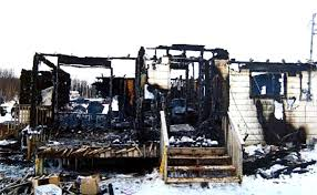 Lacking the expertise to carry out repairs and maintenance necessary as well as no fire department to service homes in the community, fires are common and brutal.