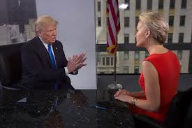 True to character, Megyn Kelly did not give in to Donald Trump's bullying and threats.